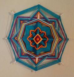Mandala olho de deus! 25$ #artesanato #arters #artmandalars