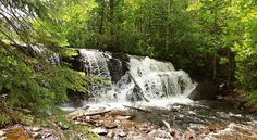 Raleigh Falls near Ignace Ontario. Great secluded spot right off Highway 17.
