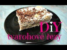 Nepečené tvarohové řezy - YouTube Tiramisu, Ethnic Recipes, Sweet, Desserts, Food, Youtube, Candy, Tailgate Desserts, Deserts