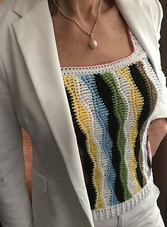 ideas crochet summer pullover tank tops for 2019 Crochet Summer Dresses, Summer Dress Patterns, Crochet Summer Tops, Crochet Blouse, Crochet Lace, Crochet Stitches, Crochet Patterns, Crochet Ideas, Summer Sweaters