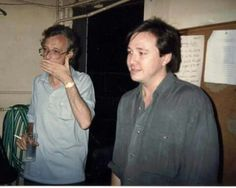 Bill with Andy Huggins Bill Hicks, Comedians, Laughter, American, Evans, Hero, Google Search, Live, Photos