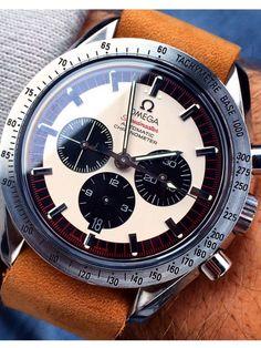 Omega Speedmaster Michael Schumacher Ref. 35593200 #menwatches