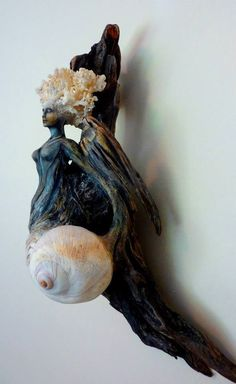 ShapingSpirit Driftwood Spirit Sculptures by Debra Bernier