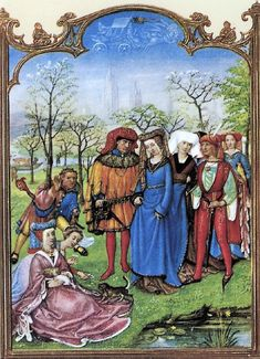 Grimani Breviary The Month of April 1490-1510