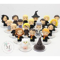 Harry Potter Keychain, Harry Potter Games, Harry Potter Anime, Clay Projects, Clay Crafts, Diy And Crafts, Gateau Harry Potter, Potters Clay, Cute Clay