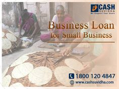 Cash Suvidha offer Business Loan for small business in India. #ApplyOnline #BusinessLoan #LoanforSME #LoanforMSME
