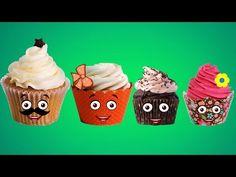 Finger Family Cup Cakes Cartoon Nursery Rhymes | Cup Cakes 3D Cartoon for Babies - YouTube http://www.youtube.com/watch?v=mFZcPb0eIEI