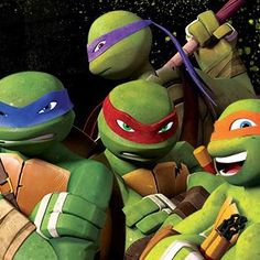Haha, so my sisters and I thought about which turtle we would be and it turns out: Hobbz is Leo, Dun is Raph, Diner is Donnie and I am Mikey! Lol, awesome show!
