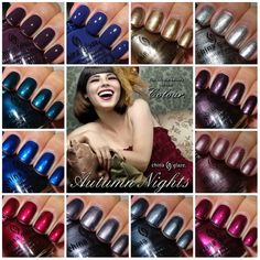 china glaze autumn nights collection swatch - Yahoo Image Search Results