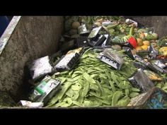 Waste - Why Poverty? 1/3 of food heads for the trash. The food thrown away in Europe and North America would be enough to feed all the hungry people in the world three times over. 3 million tones of bread are thrown away in the European Union each year.