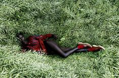 """Cocoon"" | Model: Jeneil Williams, Photographer: Julia Noni, Vogue Germany, September 2013"