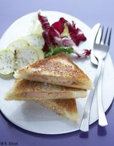 Croques au foie gras
