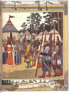 Maria Morevna Ivan Bilibin Russian fairy tale