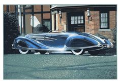 Automobile, Future Car, Retro Futurism, Aston Martin, Dream Cars, Classic Cars, Castle, Vehicles, Design