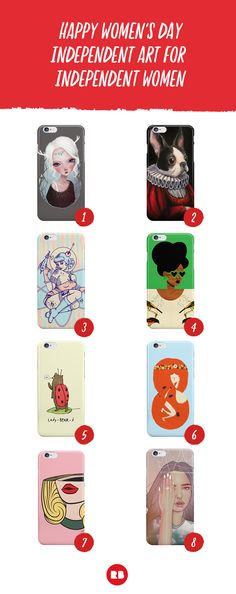 """iPhone cases for the all the ladies on Redbubble.  Wanna find the exact design? Search... 1. """"Ice Princess"""" by annawintery 