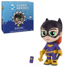 From DC Comics, Batgirl, as a new stylized 5 Star figure from Funko! figure stands 3 inches and comes in a window display box. Check out the other DC Comics figures from Funko! collect them all! Superman, Batman And Batgirl, Funko Figures, Vinyl Figures, Action Figures, Pop Figures, Madrid Barcelona, Dc Comics, Fate Stay Night