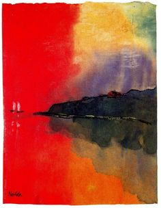 red sea - emil nolde