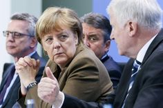 Bild zu Angela Merkel, Horst Seehofer