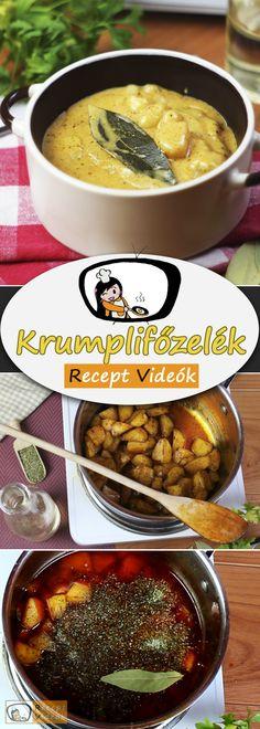 KRUMPLIFŐZELÉK RECEPT VIDEÓVAL - krumplifőzelék készítése