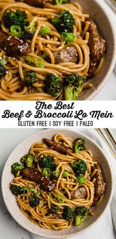 Gluten Free Chinese Food, Gluten Free Menu, Gluten Free Recipes For Dinner, Foods With Gluten, Dairy Free Recipes, Sans Gluten, Crockpot Recipes Gluten Free, Gluten Free Dinners, Gluten Free Noodles