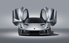 British car manufacturer Lotus has launched its first fully electric zero-emission hypercar, the Lotus Evija, which claims to be the most powerful series production road car ever built. Maserati, Lamborghini, New Lotus, Lotus Car, Monster Car, Luxury Sports Cars, Tesla Roadster, Ford Motor Company, Super Sport