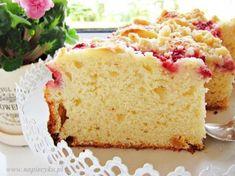 Baking Recipes, Cake Recipes, Polish Recipes, Polish Food, Food Cakes, Pavlova, Cake Cookies, Vanilla Cake, Recipies