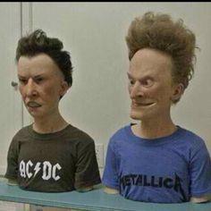 Beavis n Buthead as real people...SCARY LOOKING!<--- Conozco a más de uno con esas caras