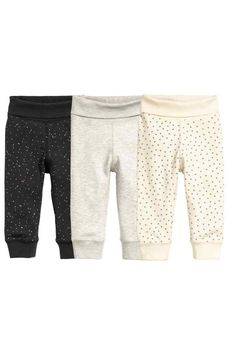 Lot de 3 leggings | H&M (17,99€)