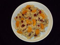 Cranberry Orange Quinoa Salad - Makes a quick make-ahead lunch