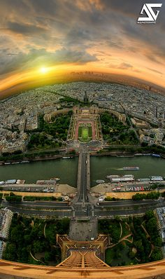 Top of the world | From Eiffel Tower, Paris, France (HDR) In… | Flickr