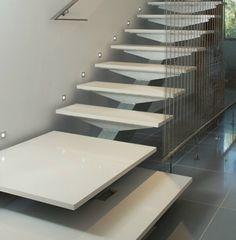 Silestone Treppen der MAAS GmbH erfüllen nicht nur praktischen Ansprüche, wie Sicherheit.   http://www.silestone-deutschland.com/silestone_treppen