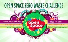 widerstandistzweckmaessig: Die Open Space Zero Waste Challenge – mach mit! Zero Waste, Challenges, Space, Character, Fiction, Sustainability, Projects, Simple, Floor Space