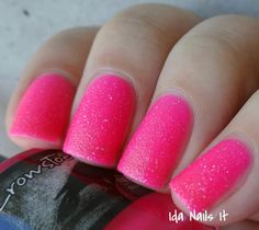 """Ida Nails It: Crows Toes ValenCrows 2015 Collection """"Hooker at Heart"""""""