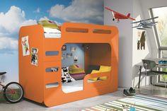 Kinder   Etagenbett Luca I In 6 Verschiedenen Dekorfarben #etagenbett # Kinder Auto Bett Kinder