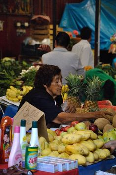 La Merced Market Mexico City Mexico