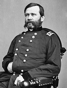 William Buel Franklin was a career United States Army officer and a Union Army general in the American Civil War. He rose to the rank of a corps commander in the Army of the Potomac, fighting in several notable early battles in the Eastern Theater. He was believed to be responsible for the cabal against Burnside, but refused to serve under Hooker and went to the West where he finished out the war. (West Point - Class of 1843.)