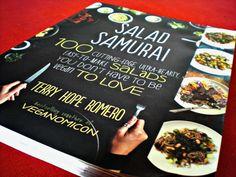 #Salad Samurai #Cookbook Review & #GIVEAWAY!