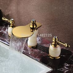 Online Shopping at a cheapest price for bathroom faucets, Basin Faucet, widespread faucet, luxury faucet, home decor centre. #bathroom #faucets #marble #granite goldenfaucet #Luxurious #basinfaucet