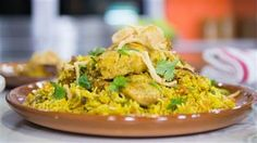This Indian easy chicken biryani is loaded with flavor