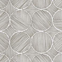 Fabric - Trondheim Bark Reverse by Guildery Doodle Patterns, Zentangle Patterns, Print Patterns, Kunstjournal Inspiration, Sketchbook Inspiration, Zentangle Drawings, Art Drawings, Zentangles, Pen Art