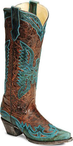 I like these! Too bad corral bad so many different colors of these boots! I have 4 already!