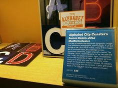 The Alphabet City as seen in the MoMA Design Store. photo © Beth Whitaker
