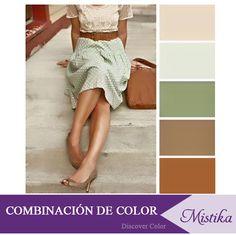 Aprende a combinar tus prendas al momento de comprar tu atuendo - combinación de color