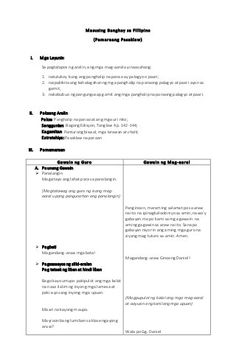 Masusing Banghay Aralin sa Filipino (Detailed lesson plan in Filipino… Grade 1 Lesson Plan, Daily Lesson Plan, Science Lesson Plans, Teacher Lesson Plans, Science Lessons, Lesson Plan Examples, Lesson Plan Format, English Lesson Plans, English Lessons
