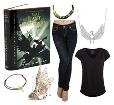 """""""The Last Olympian"""" by chinesedragon88 ❤ liked on Polyvore featuring Pieces, Beverly Hills Charm, Sophia Webster, LeiVanKash, women's clothing, women, female, woman, misses and juniors"""