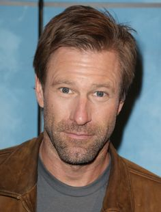 Aaron Eckhart is seen on the set of Univision's 'Despierta America' at Univision Headquarters on January 17 2014 in Miami Florida