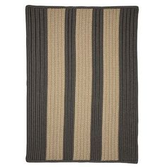 Breakwater Bay Seal Harbor Hand-Woven Gray Outdoor Area Rug Rug Size: Square 6'
