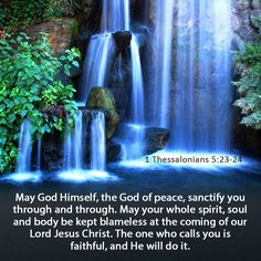 May 7, 2014- Had my last final today. I had to memorize 1 Thessalonians 5:23-24 as part of my final and it went well. :)