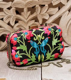 8fcd2bd37e Bags - Accessories. Bridal ClutchEmbroidered SilkDesigner CollectionBirds StylishEmbroideryHandbagsAccessoriesShoes