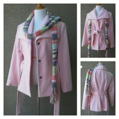 New York Co. Nwot Pink Coat
